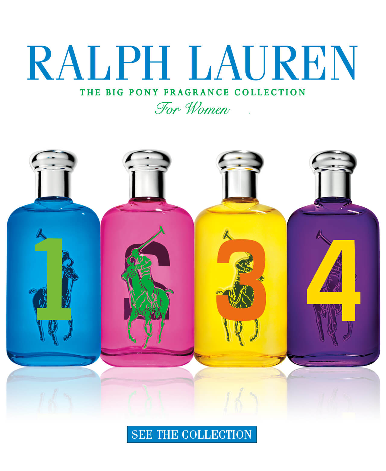 The Big Pony Fragrance Collection For Women
