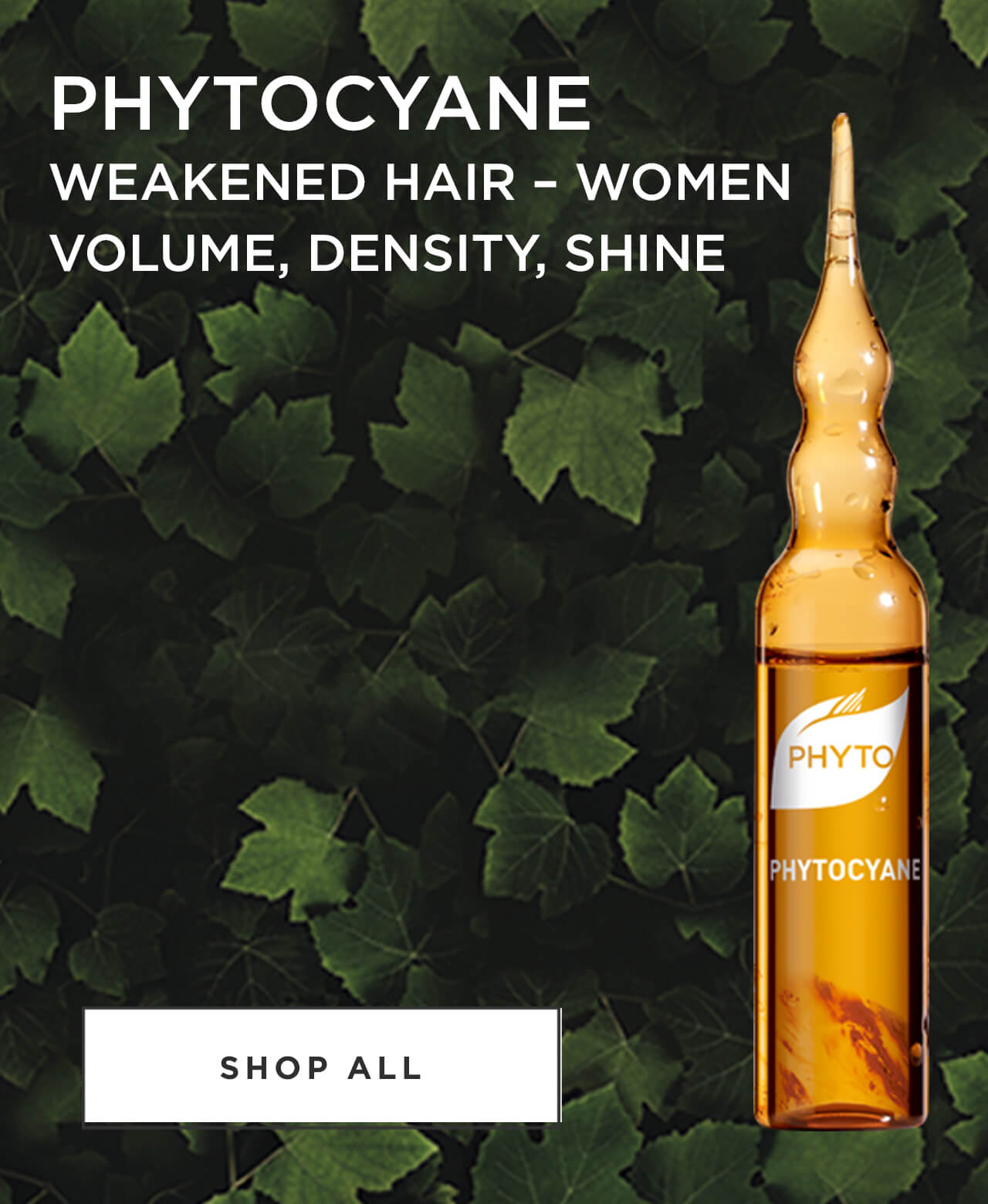 Phytocane weakened hair - Women Volume, Density, Shine