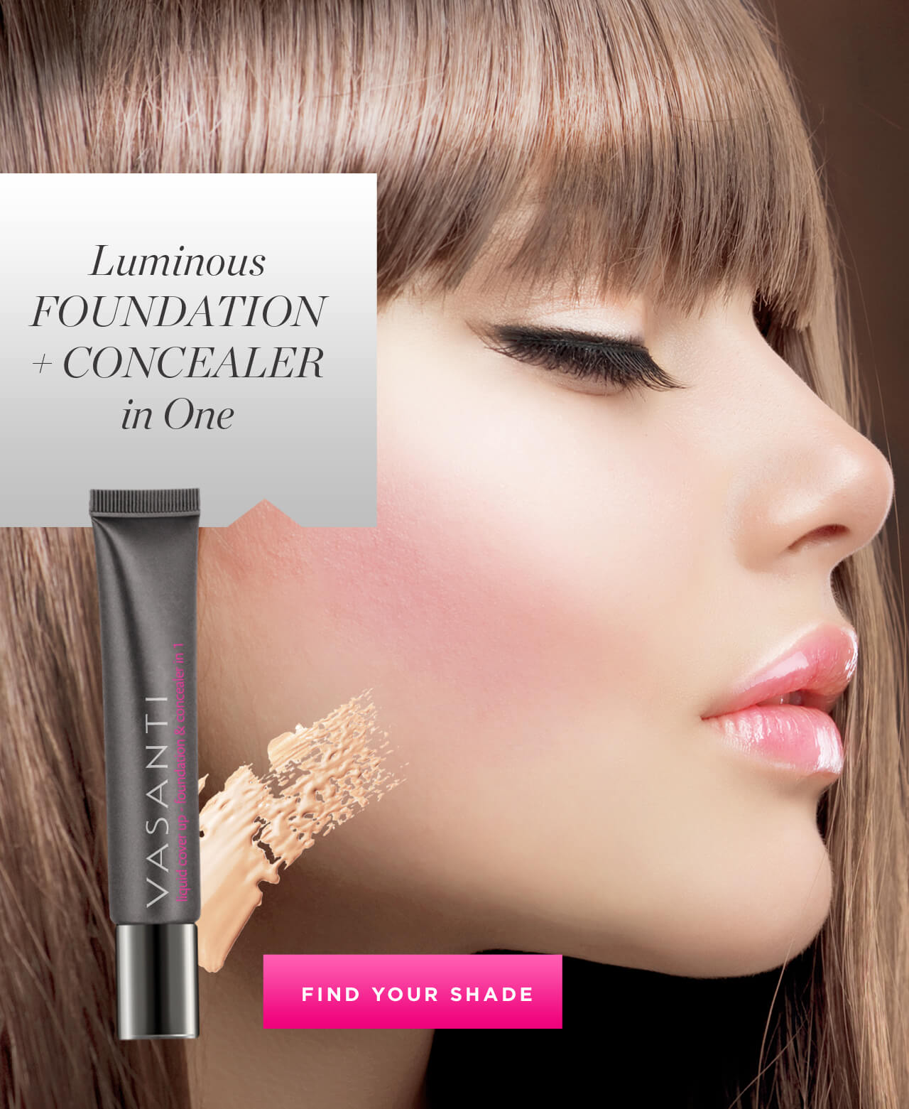 Luminous Foundation + Concealer in One