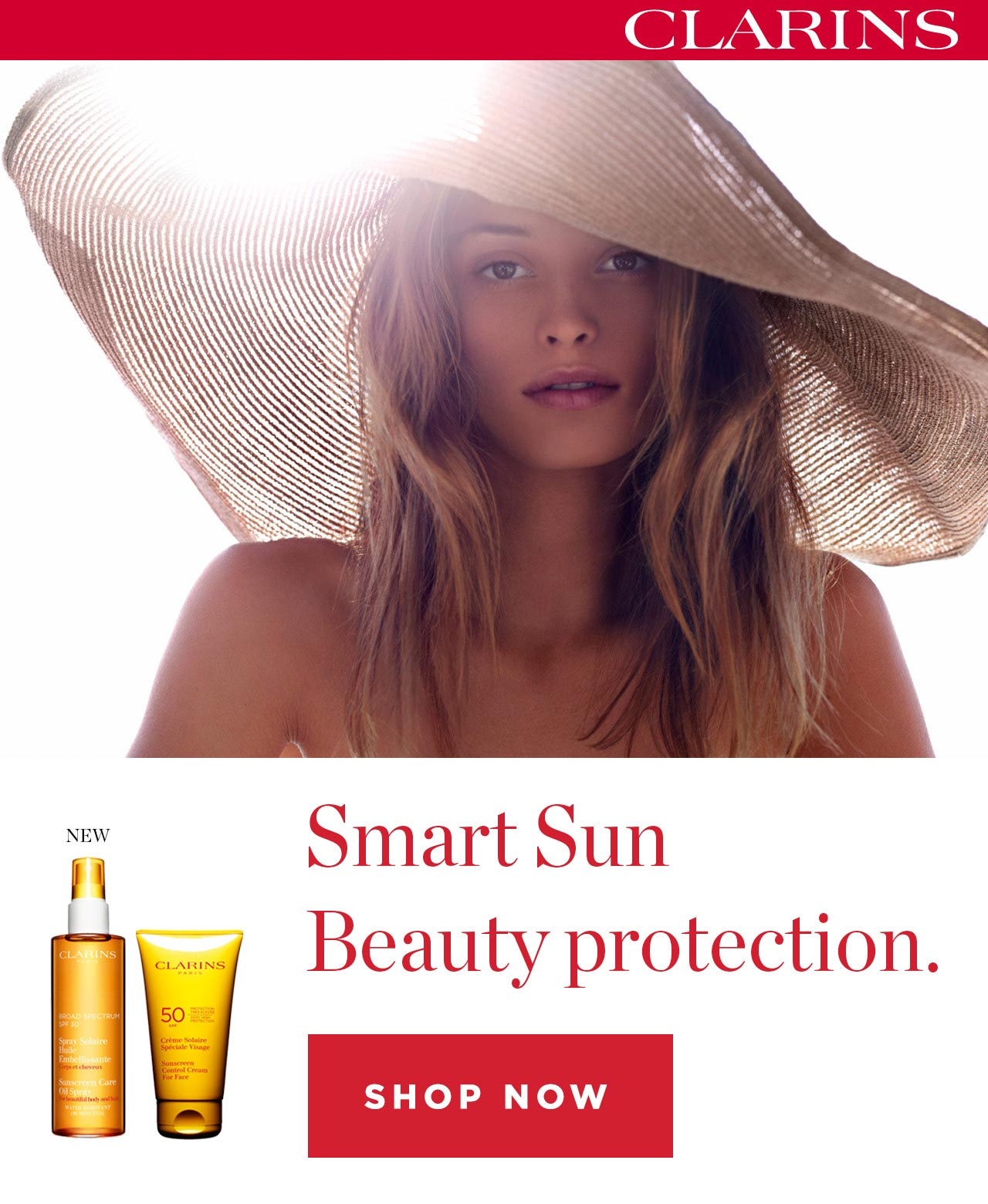 Smart Sun Beauty Protection. Clarins
