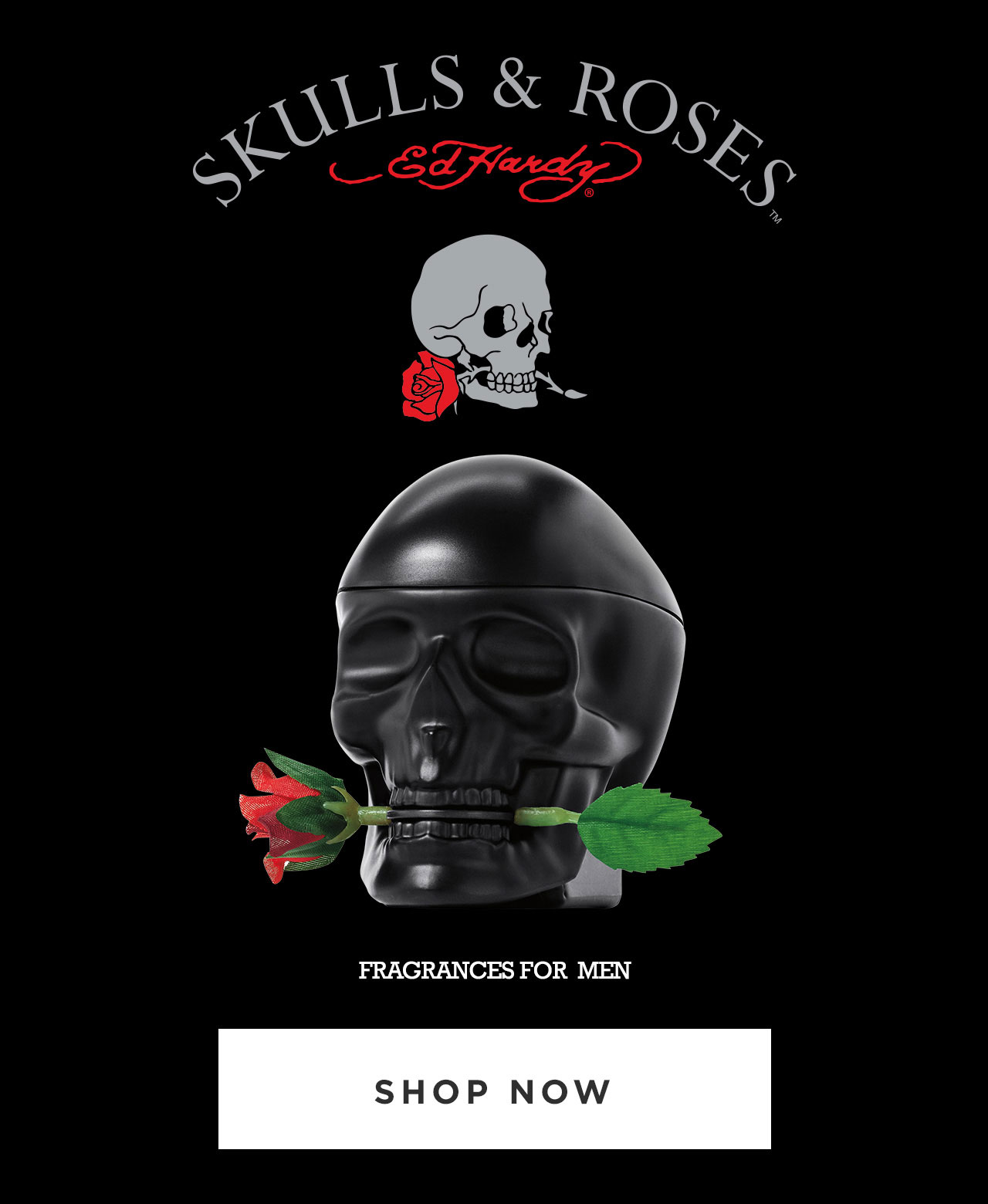 Ed Hardy Skulls & Roses Fragrances for Men