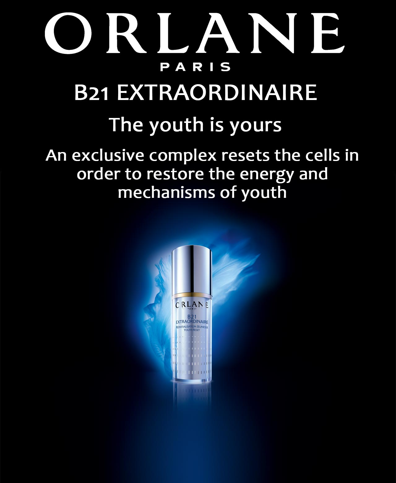Orlane B21 Extraordinaire The youth is yours