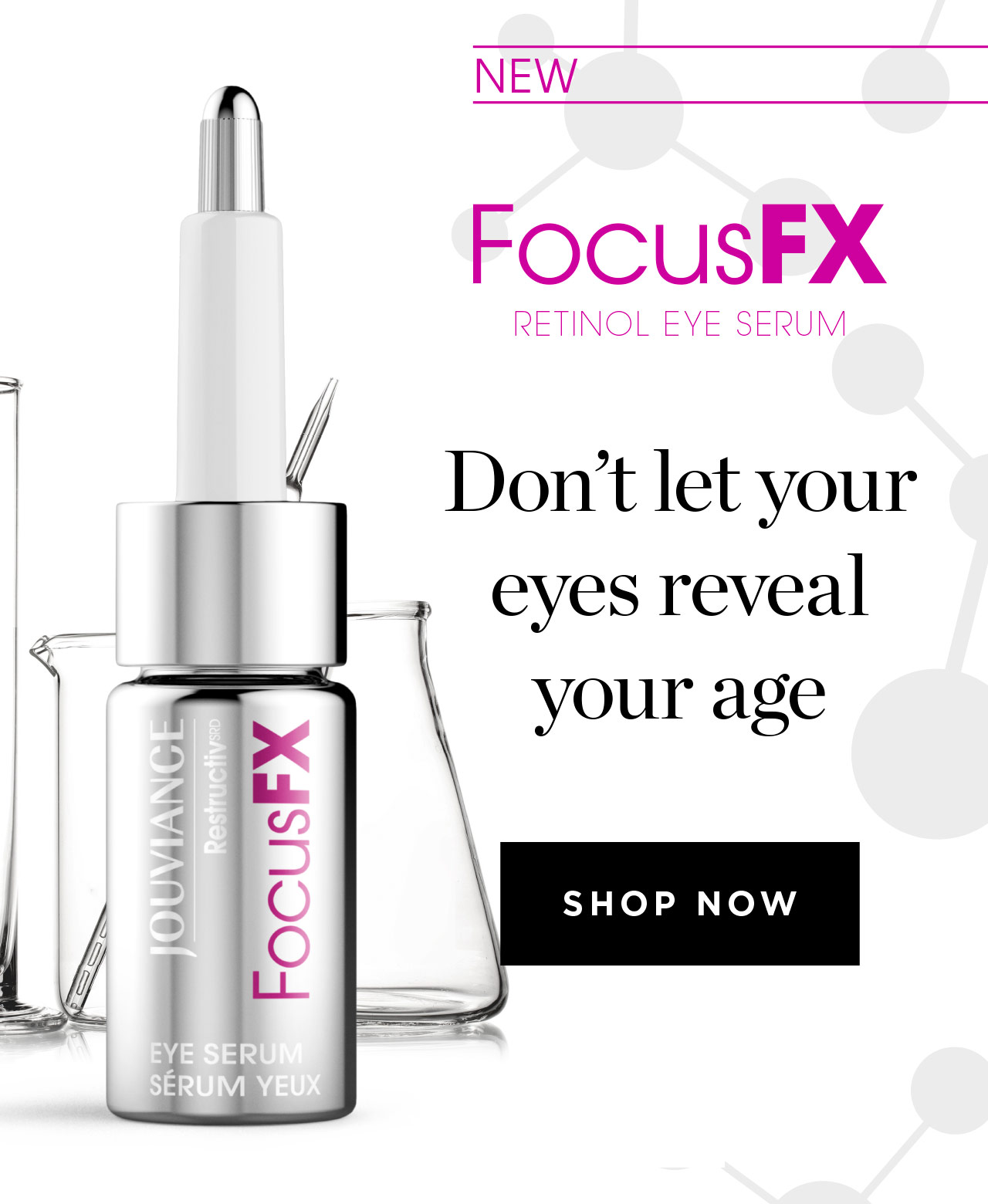 Don't let your eyes reveal your age