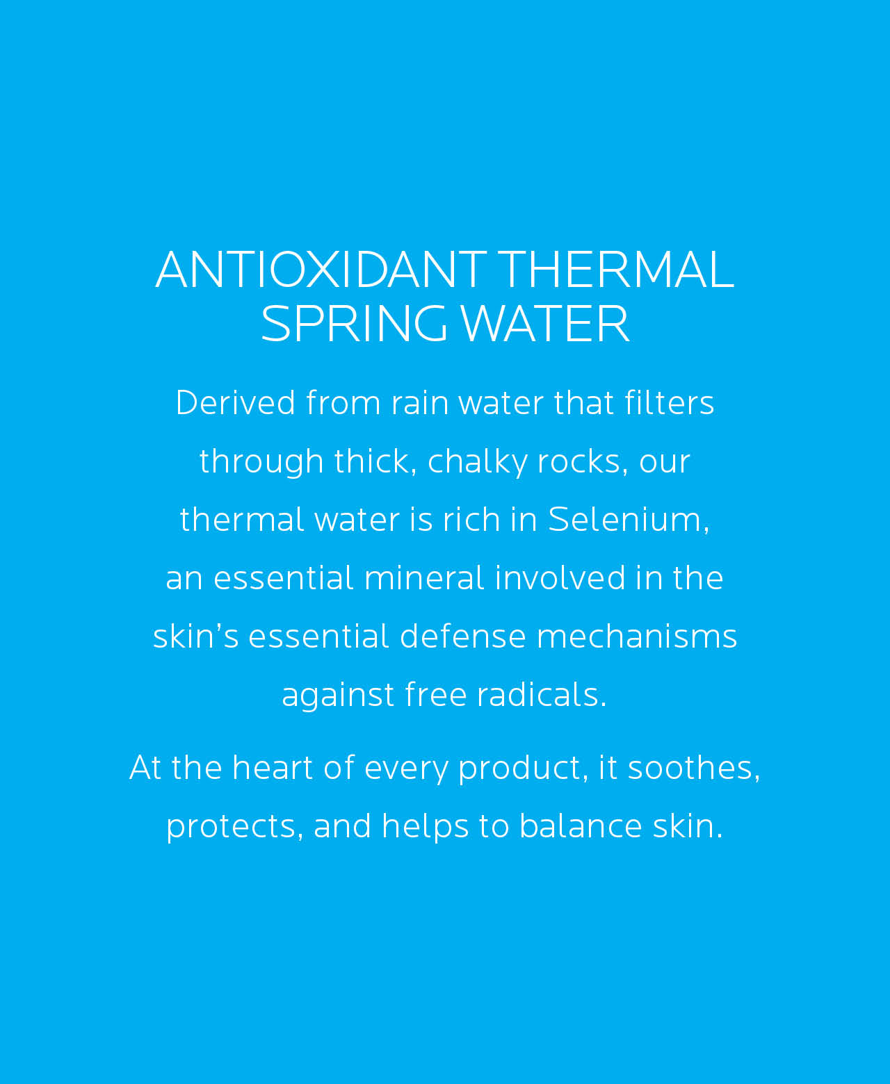 Antioxidant Thermal Spring Water