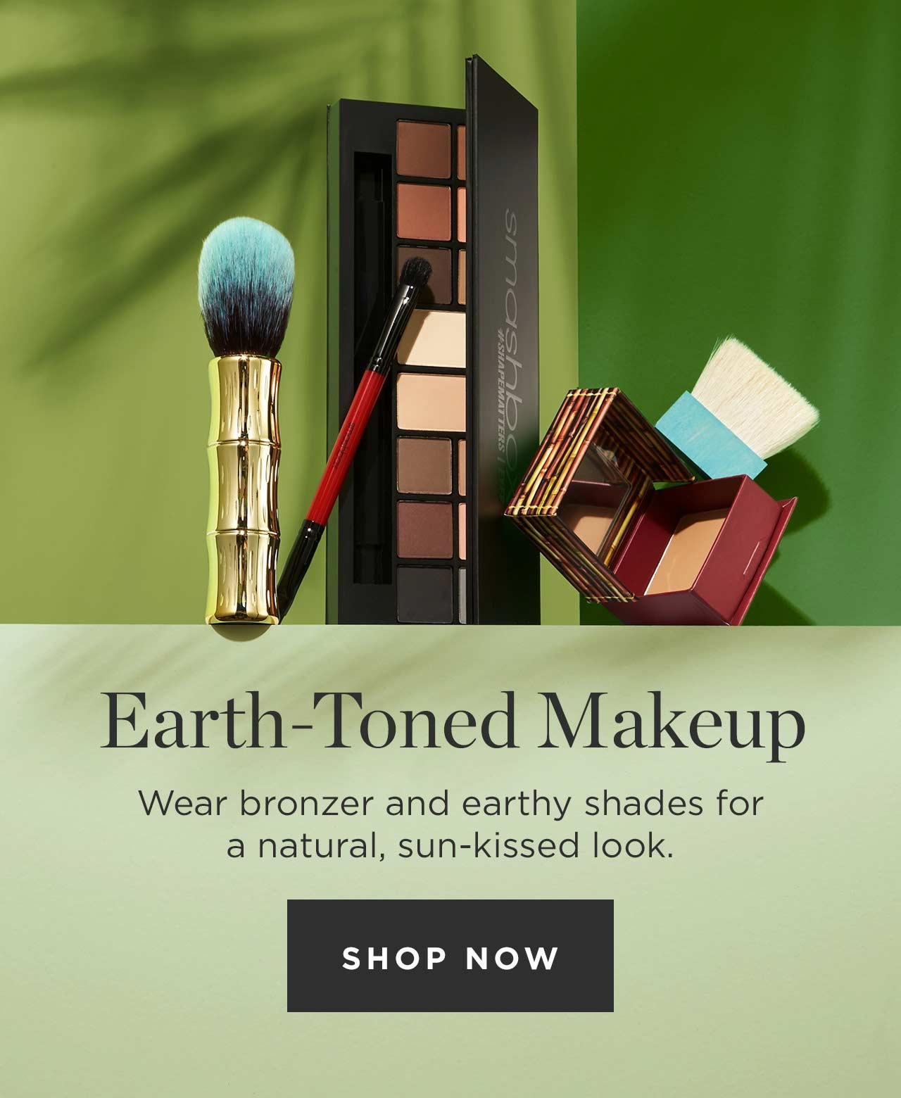 Earth-Toned Makeup