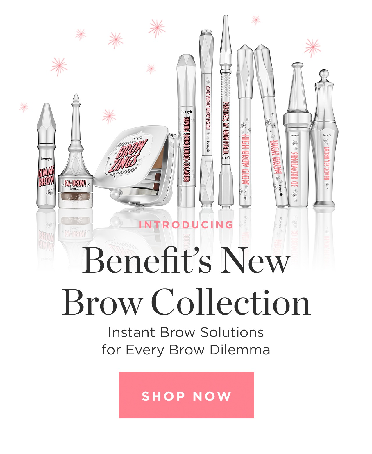 Introducing Benefit's New Brow Collection