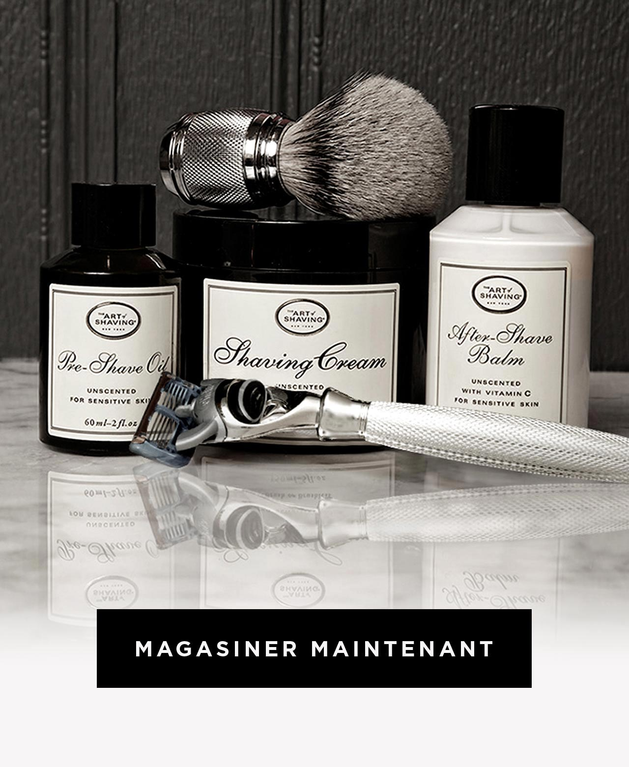 The Art of Shaving - Magasiner Maintenant