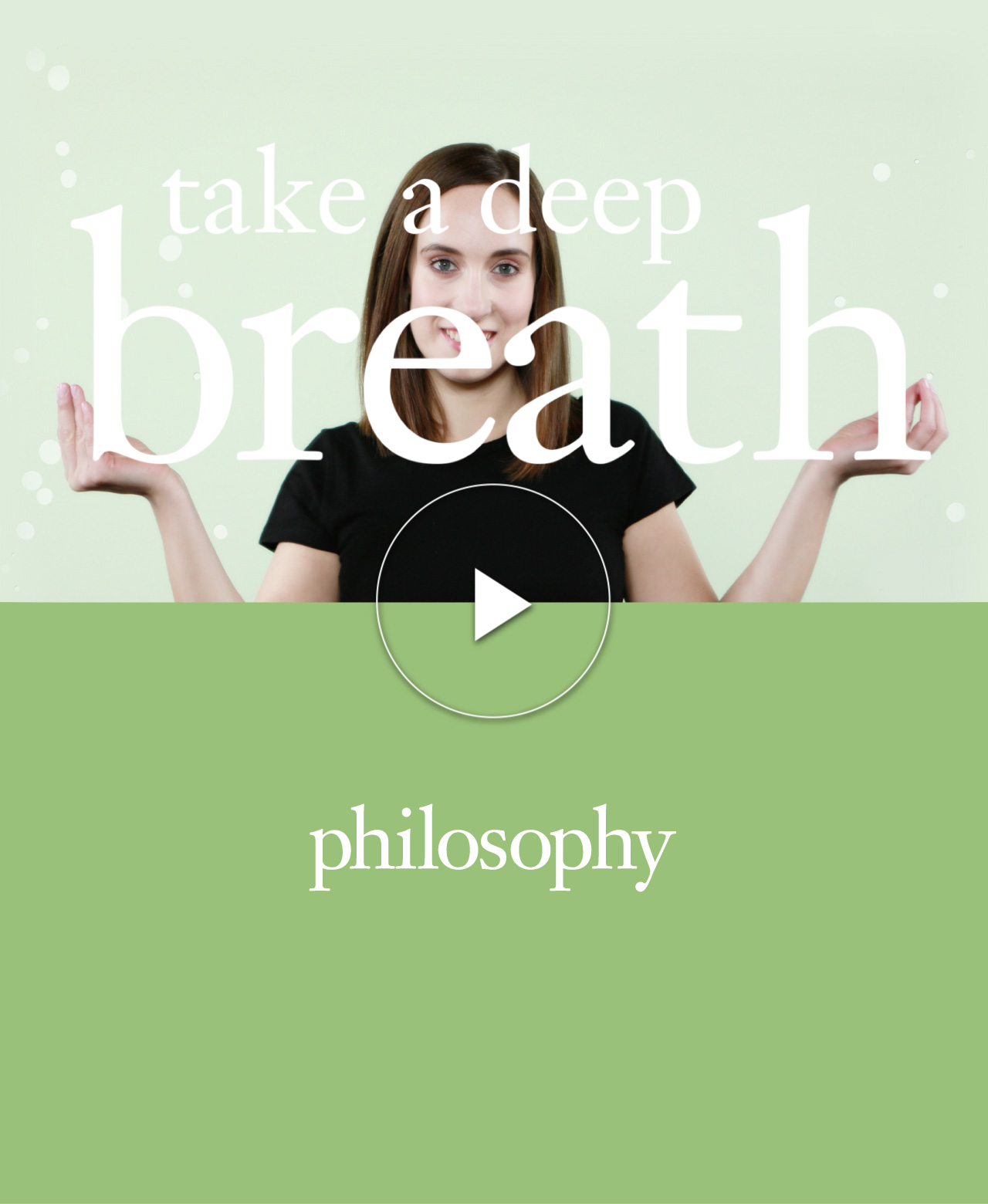 Take a Deep Breath Video