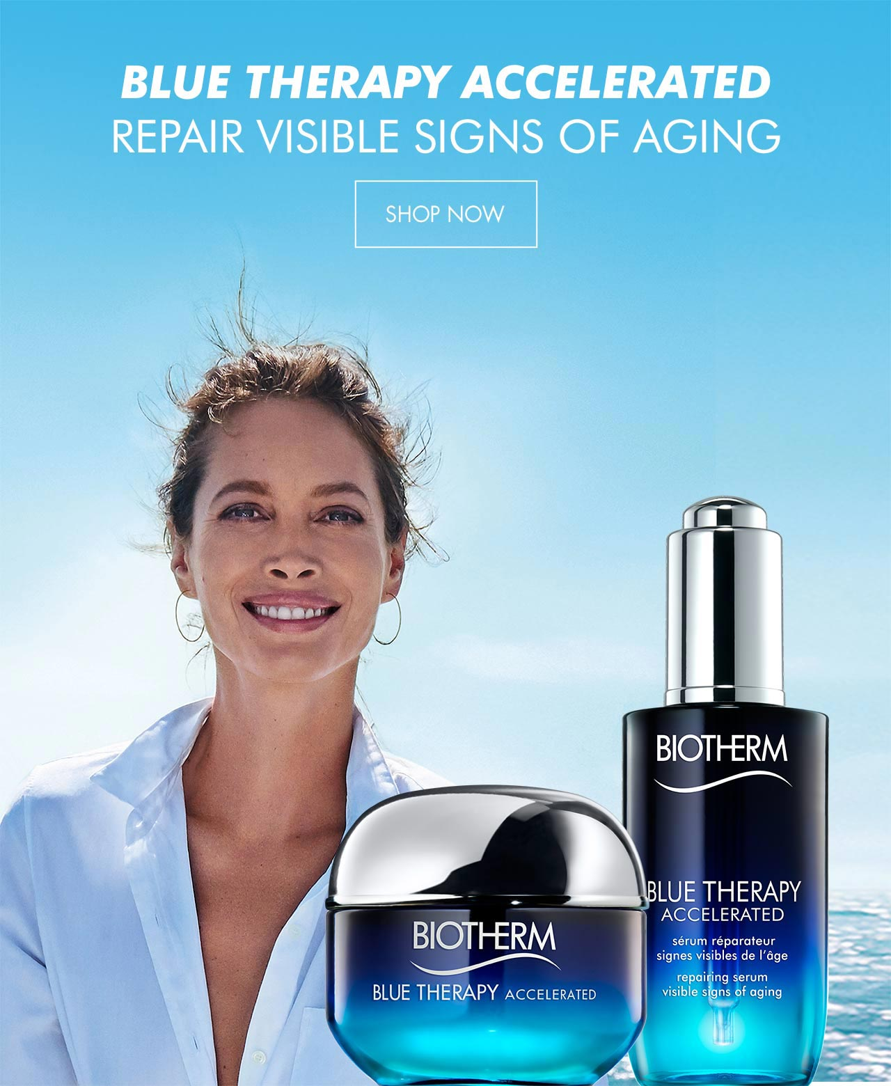 Repair visible signs of aging