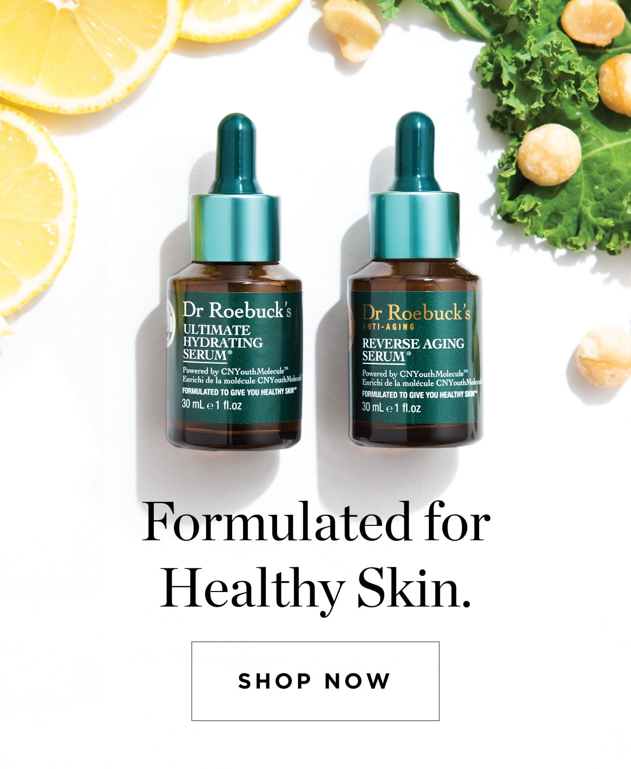 Formulated for Healthy Skin