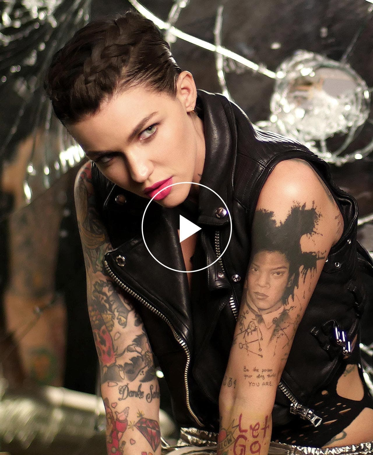 Ruby Rose Rocks the Biggest Lipstick Launch Ever