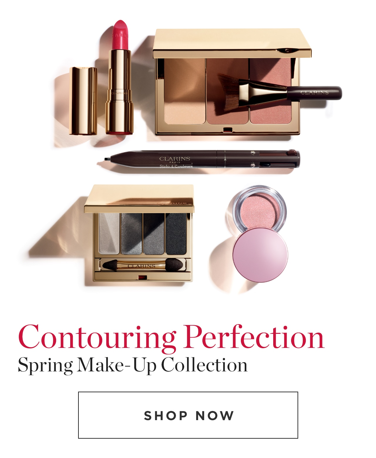 Contouring Perfection Spring Make-Up Collection Shop Now