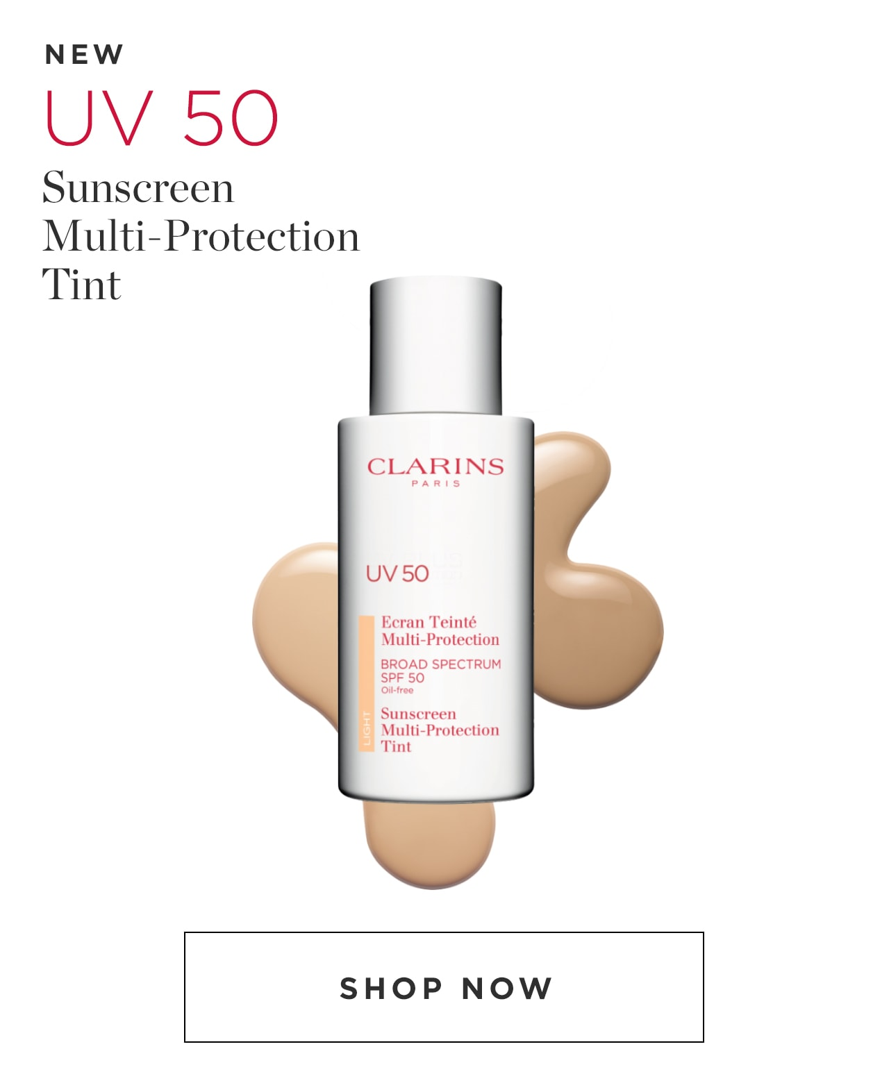 UV50 Sunscreen Multi-Protection Tint Shop Now
