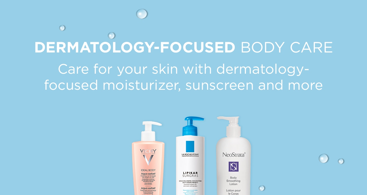 Dermatology-focused body care