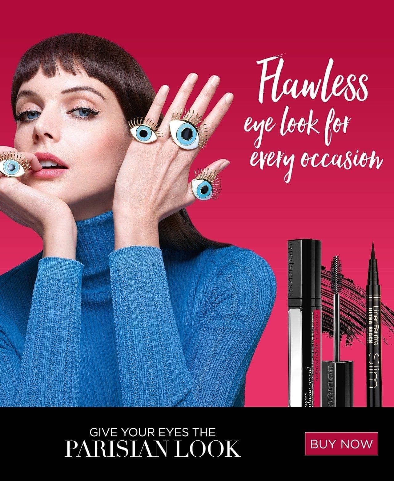 Bourjois Flawless eye look for every occassion