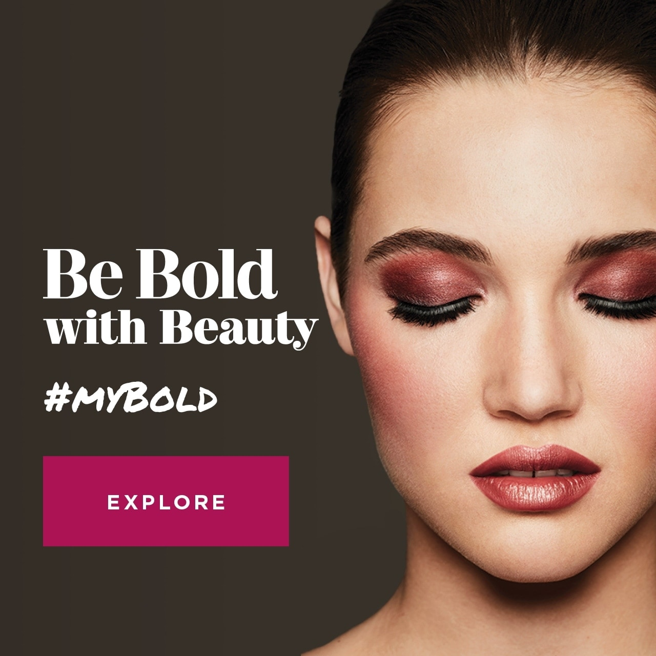 Be Bold with Beauty #MYBOLD
