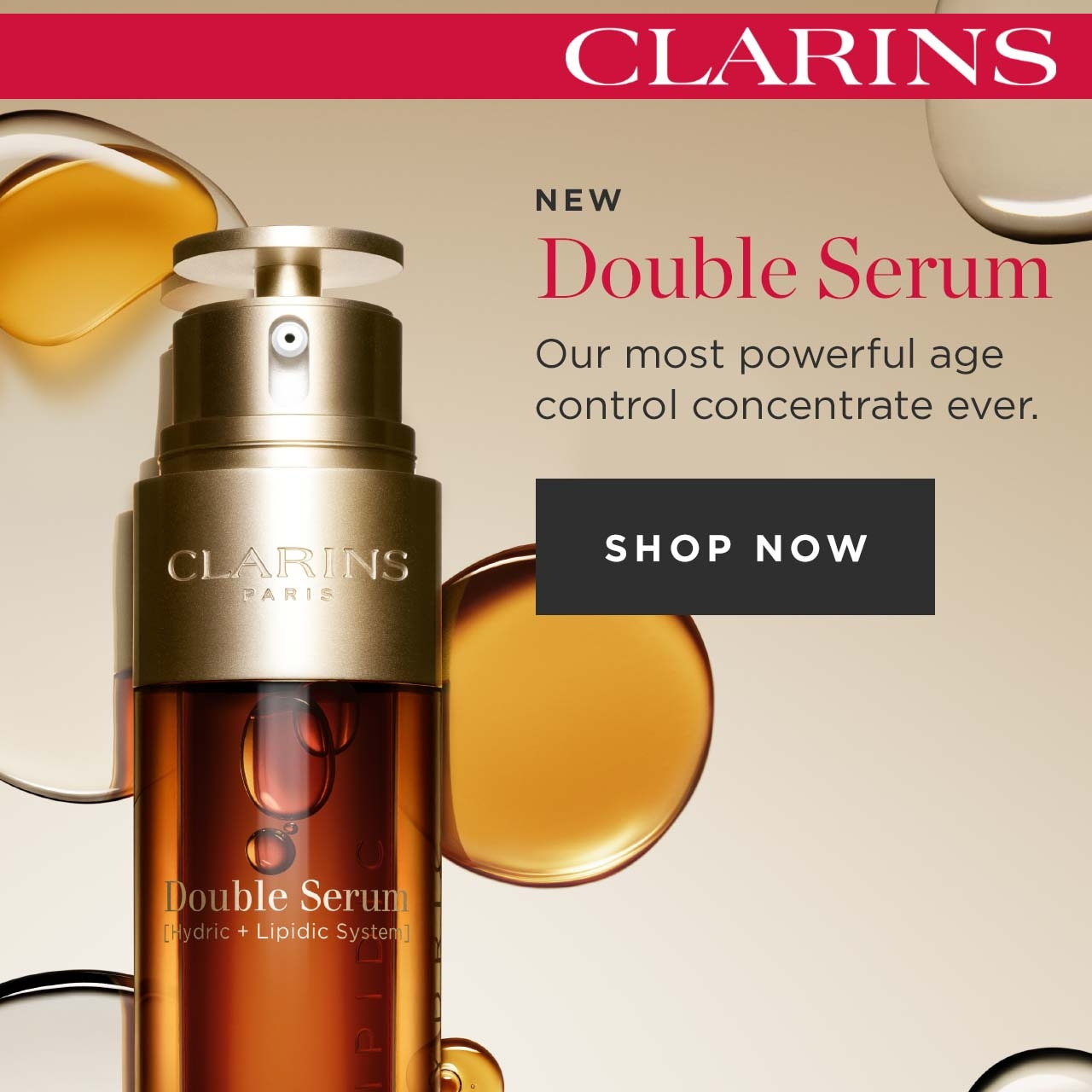 New Clarins Double Serum