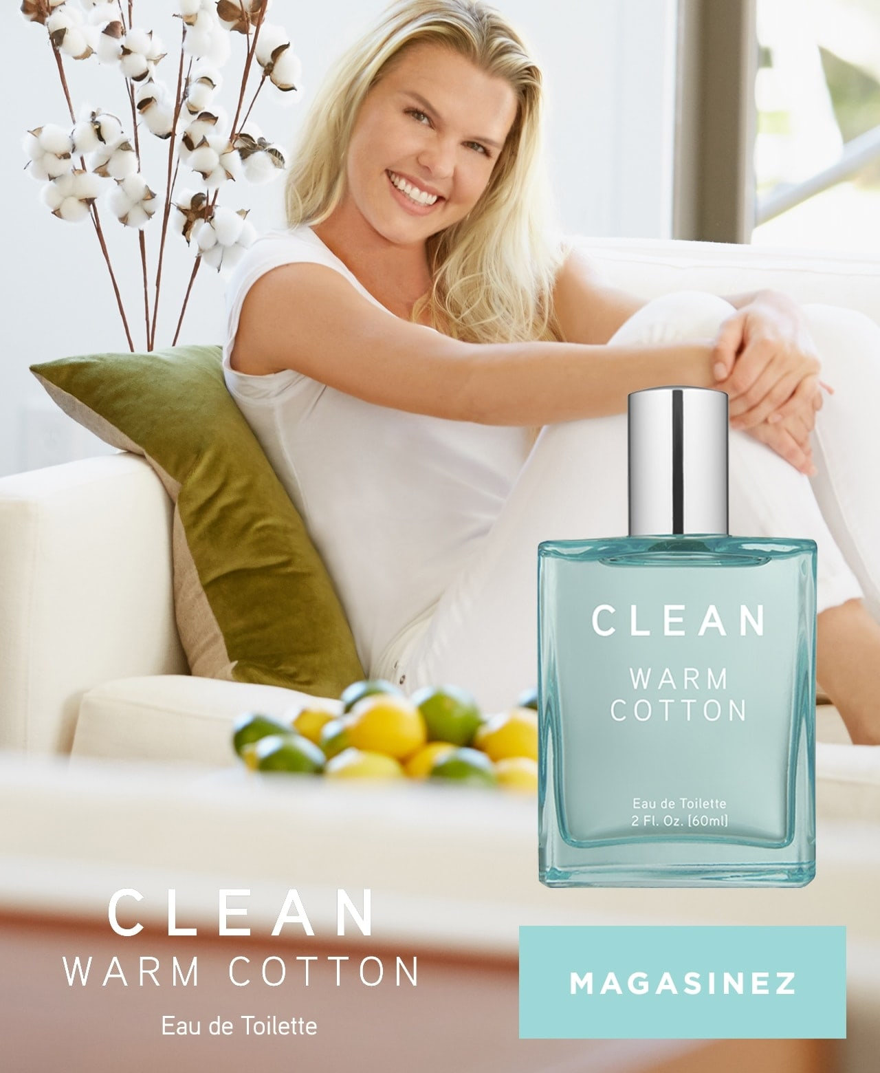 Clean Warm Cotton Eau de Toilette