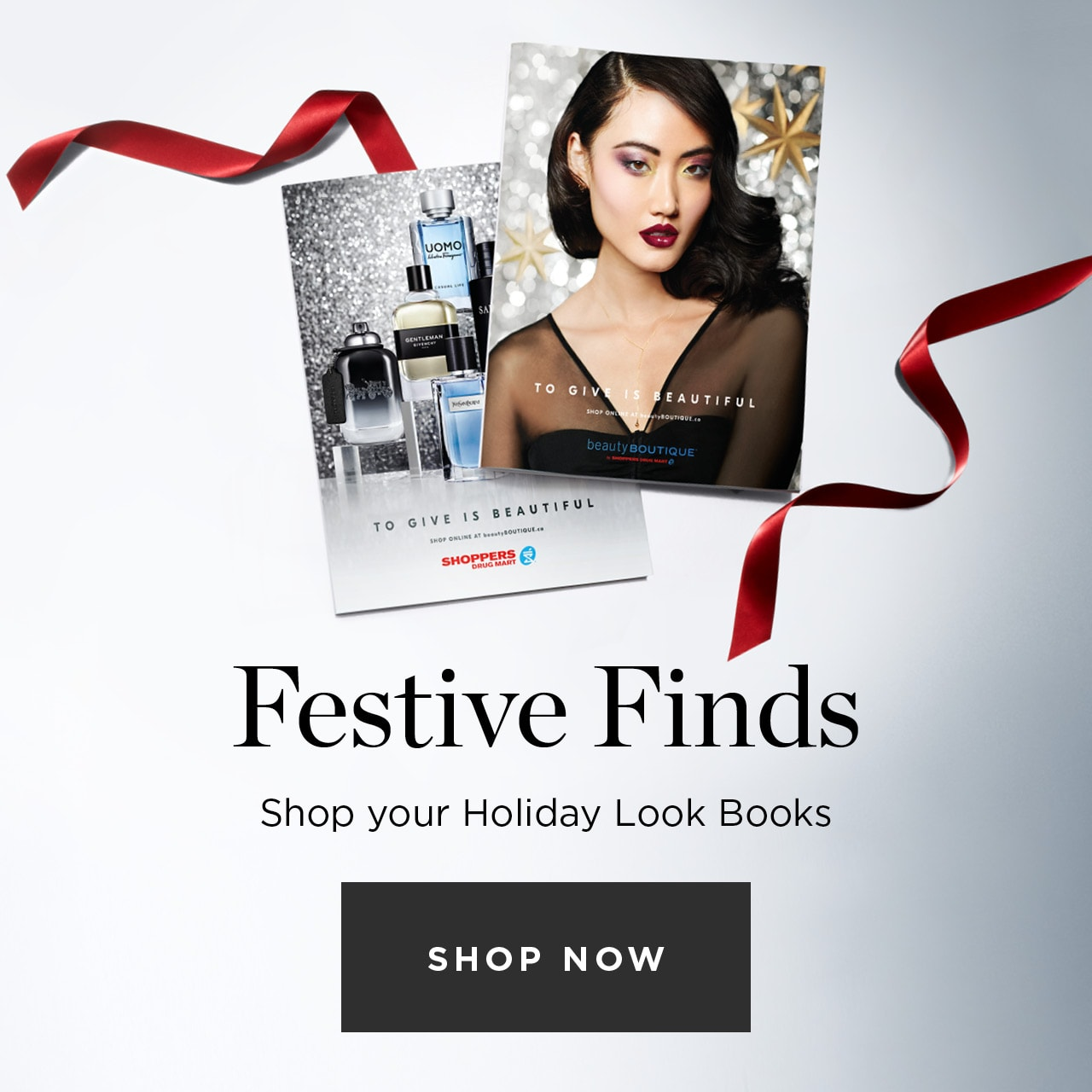 Festive finds. Shop your Holiday Look Books