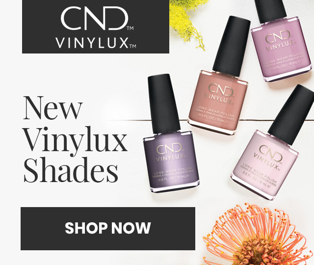 New Vinylux shades. Get 7 day wear and gel-like shine with 2 simple steps. Made with Keratin, Jojoba oil and vitamin E. Shop now