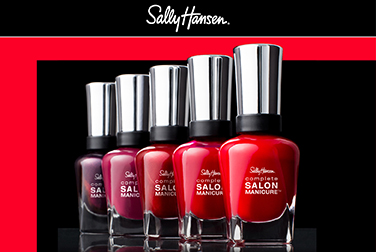 6,000 points à l'achat the 2 produits participants Sally Hansen