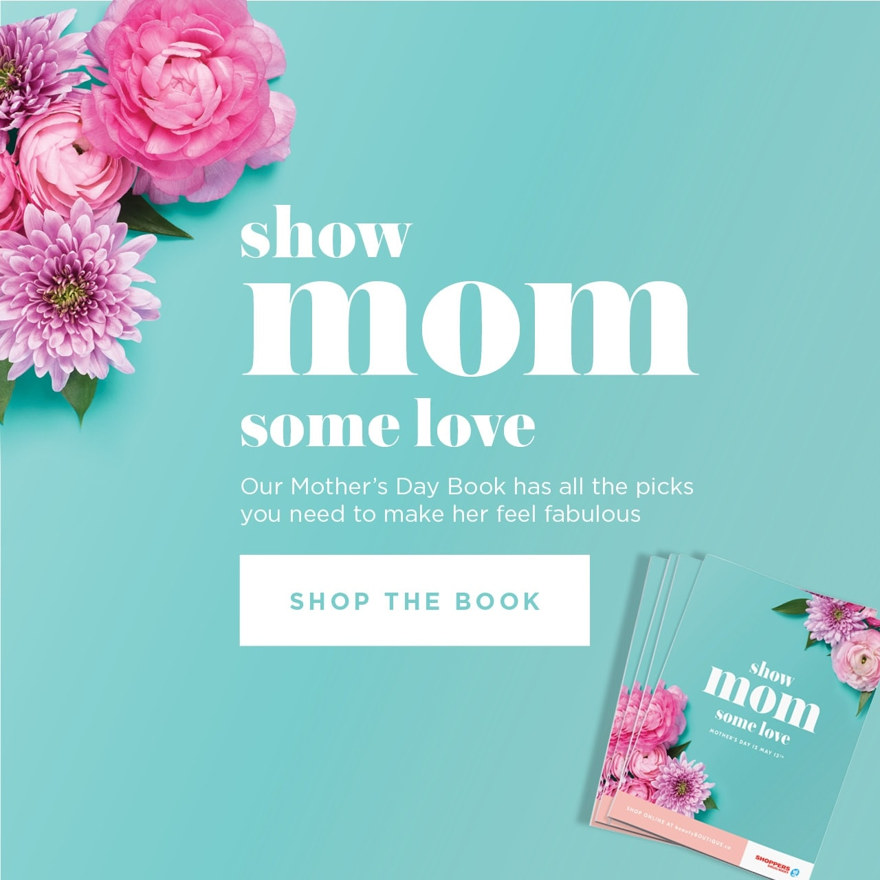 Show mom some love. Our mother's day book has all the picks you need to make her feel fabulous