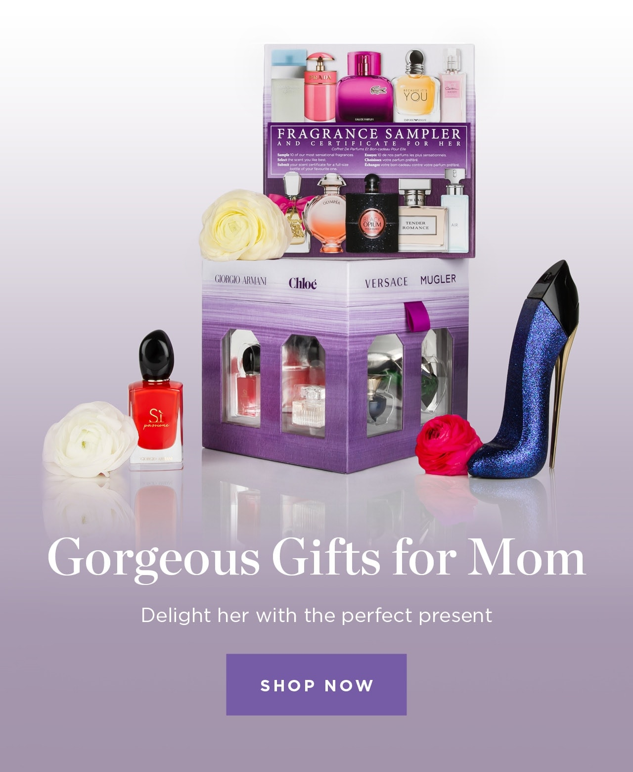 GOrgeous Gifts for Mom. Delight her with the perfect gift. Shop Now
