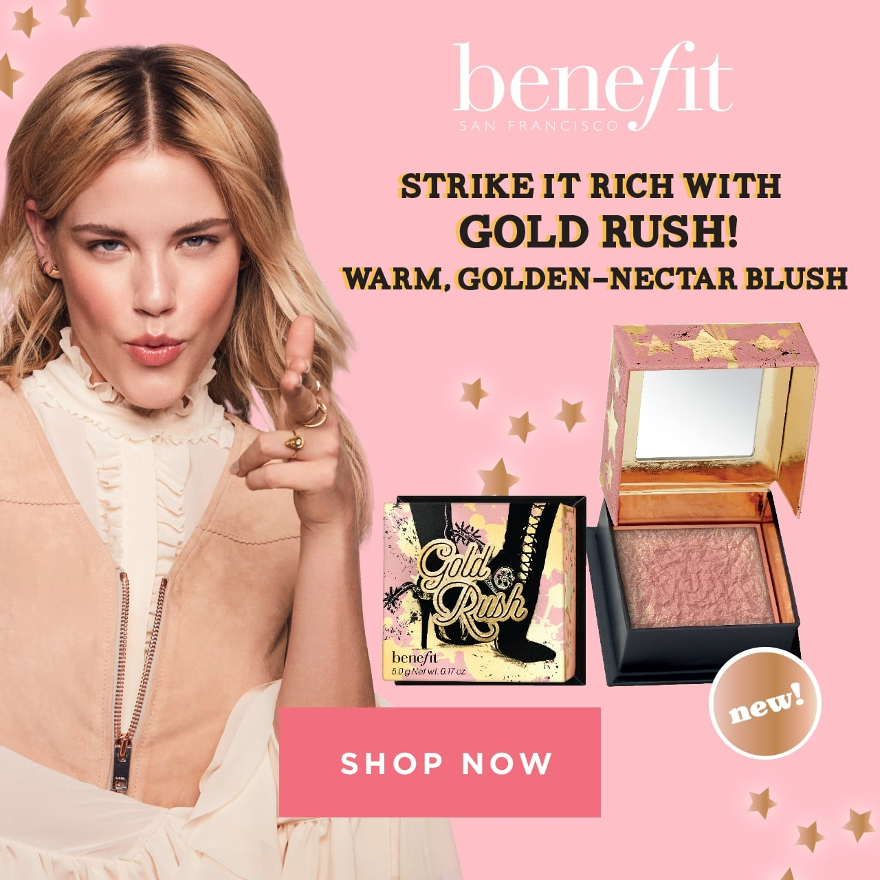 Benefit Seven says of gorgeous. Shop Now