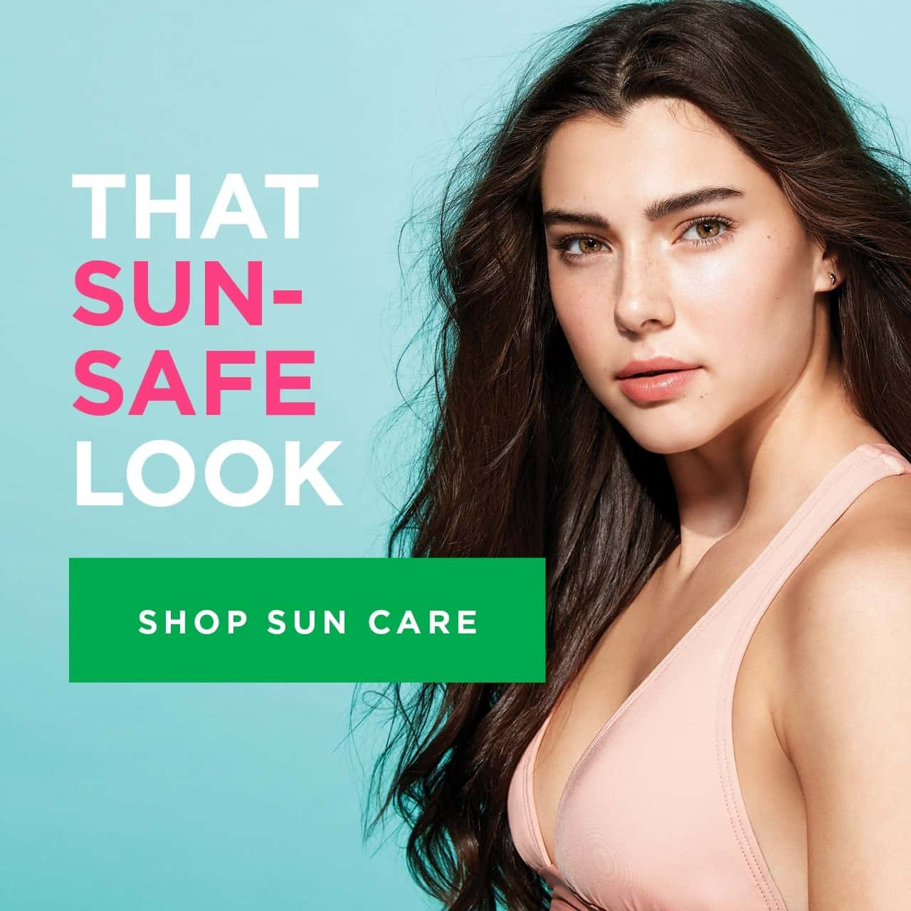 That sun-safe look. Shop Sun Care