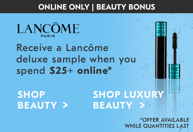 Lancome Paris Deluxe Sample