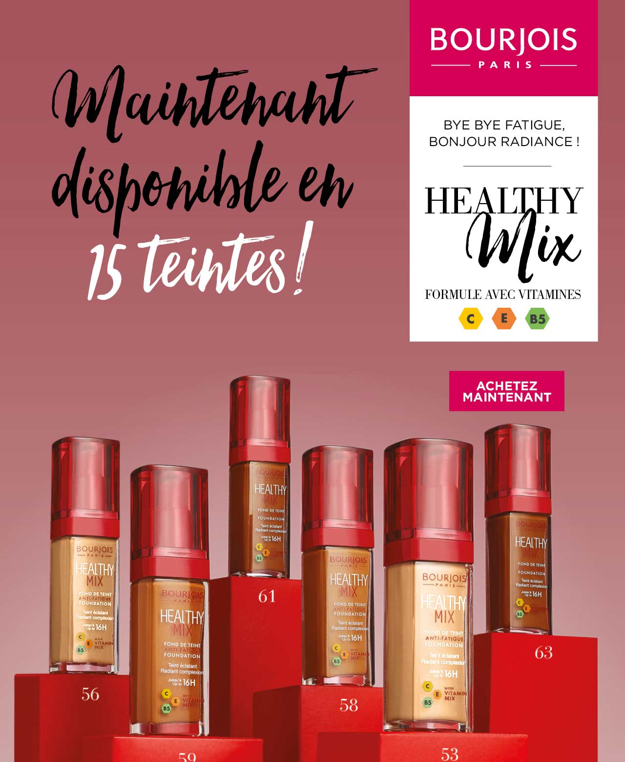Healthy Mix achetez maintenant