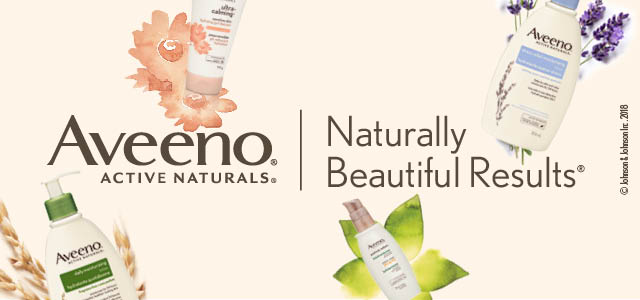 Aveeno - Naturally beautiful results