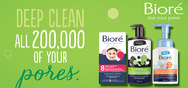Bioré - Deep clean all 200/,000 of your pores