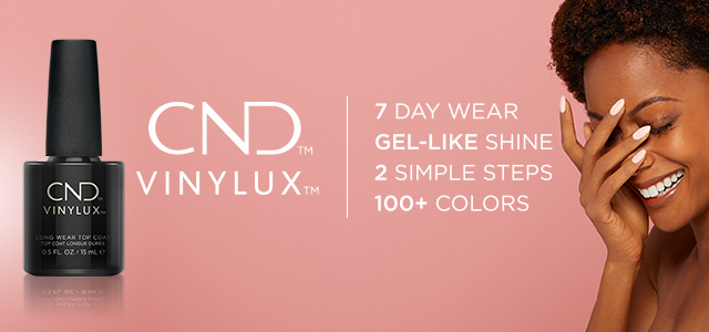 Vinylux - 7 day wear gel-like shine. Two simple steps. Hundrreds of colours