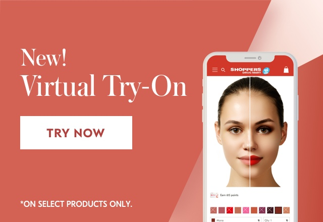 New! Virtual Try-On. Use your webcam or upload a photo to see how hundreds of select shades and products look on you. Try now