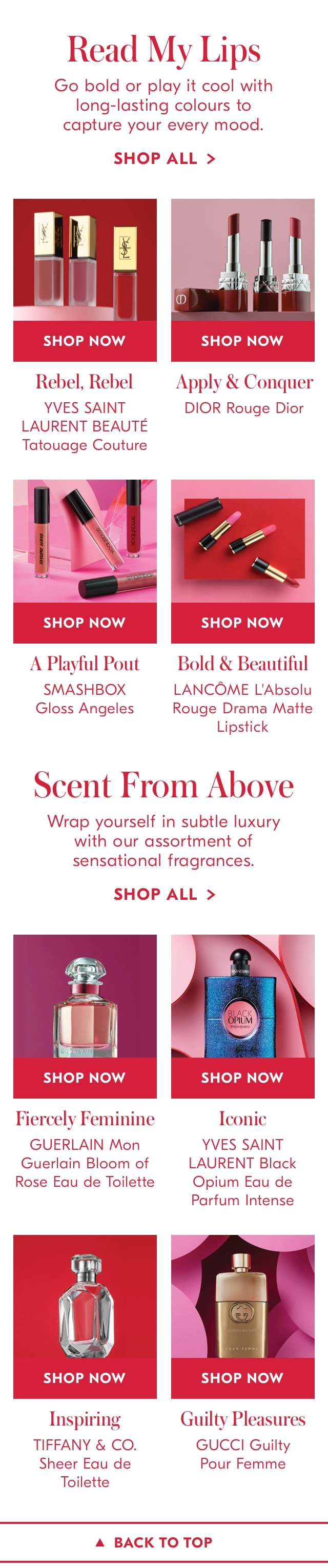 Lips and Scents