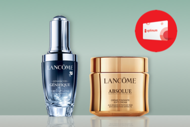 Lancôme: 20K bonus points on $125+