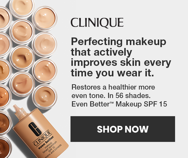 Clinique perfecting makeup that actively improves skin