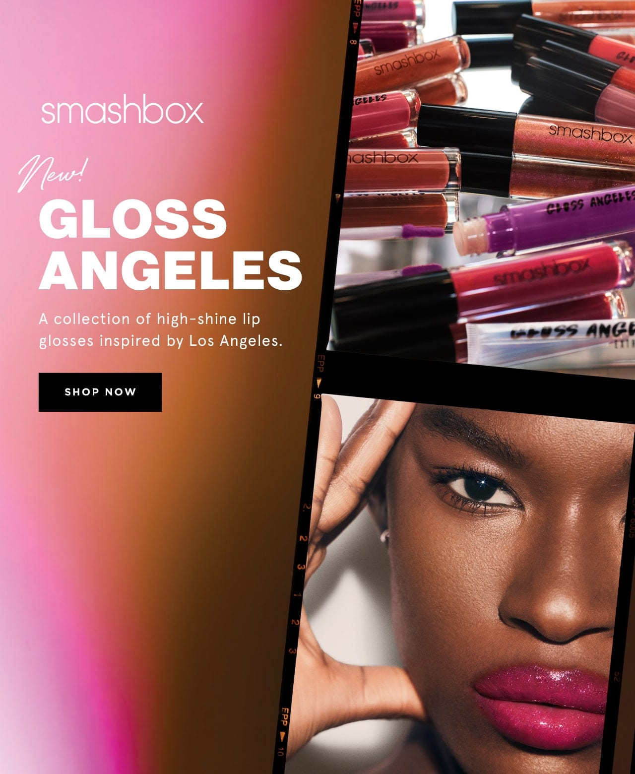 Smashbox new gloss angeles. A collection of high-shine lip glosses inspired by Los Angeles