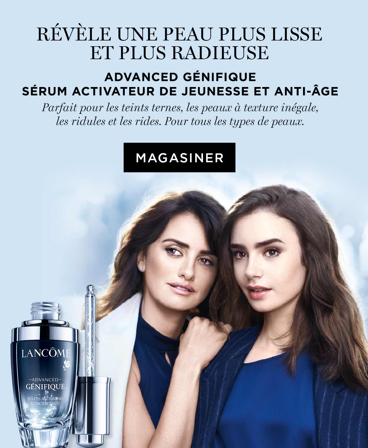 Advanced Génifique sérum activateur de jeunesse et anti-àge. Magasiner