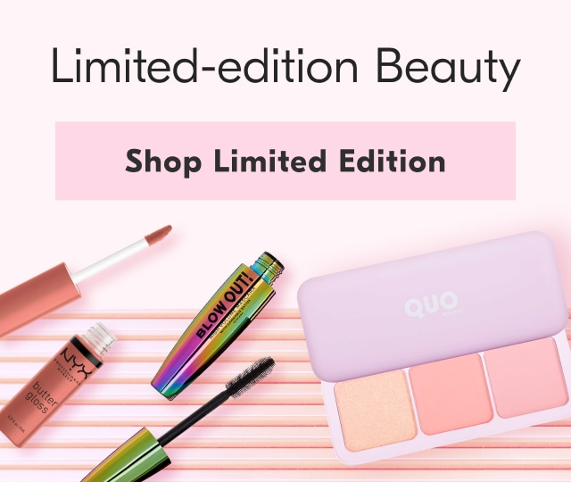 Shop limited edition beauty