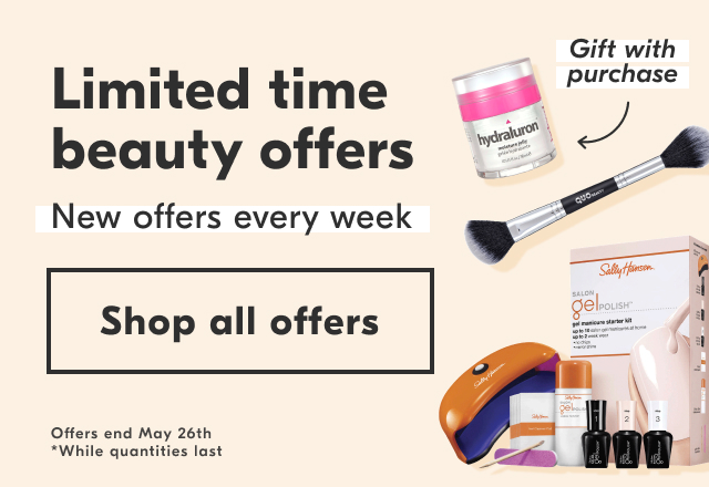 Limited time beauty offers. Shop this week's exclusive online offers