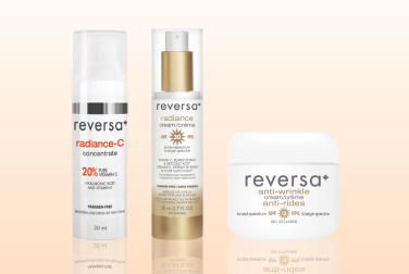 25% off select Reversa skin care