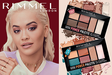 New mini Power Palettes from Rimmel